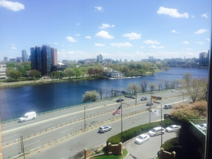 Charles river- View from Doubletree by Hilton
