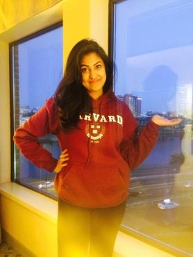 My Harvard Hoodie