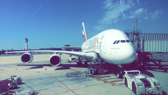 Emirates Airlines, IAD, 2016