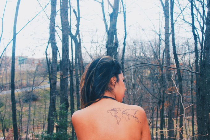 The Girl With The Travel Tattoo