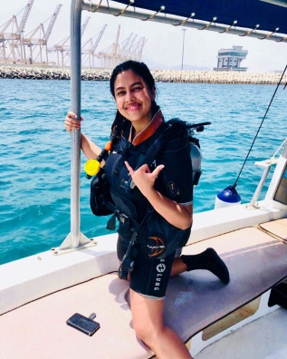 Scuba Diving With Al Boom Diving, UAE