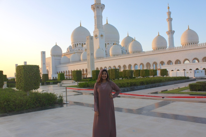 The Sheikh Zayed Mosque, Abu Dhabi, 2018