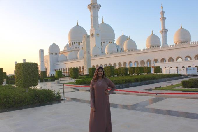The Sheikh Zayed Mosque, Abu Dhabi, 2018