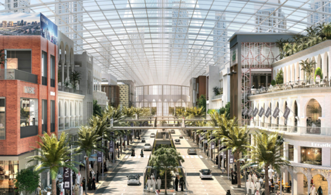 World's Largest Mall To Open In Dubai By 2021