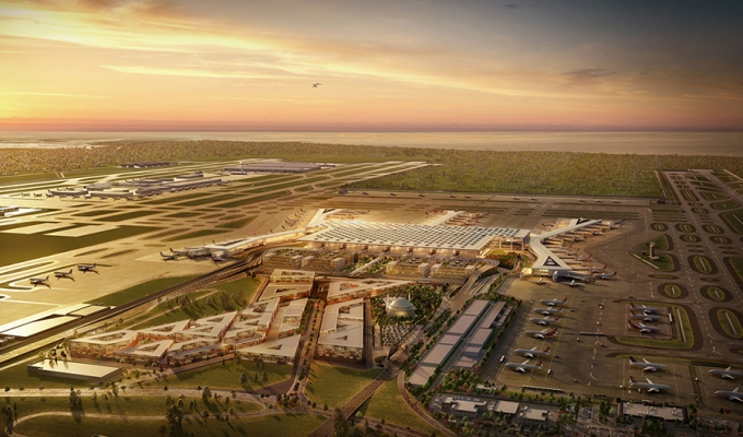 World's Biggest Airport in is Set to Open in Istanbul