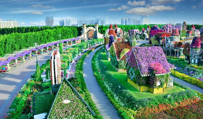Dubai Miracle Garden reopens again and this time, with a 'Disney' theme